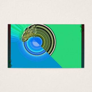 Styli blue/green visiting cards