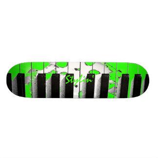 Stylin' Musician Keyboard Skateboard