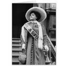 Stylin' Suffragette, 1908 Card
