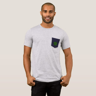 Stylish 45 RPM Vinyl Adapter Pocket T-Shirt