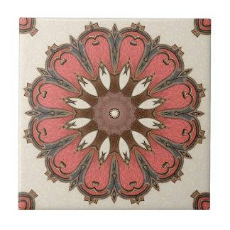 Stylish Abstract Geometric Art Ceramic Tile