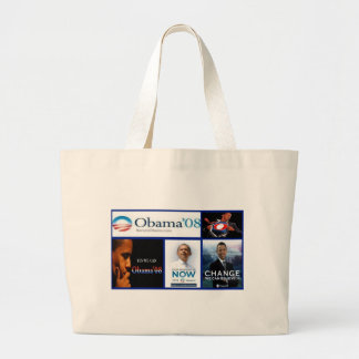 "Stylish Accent Bag ""Obama Collage"""