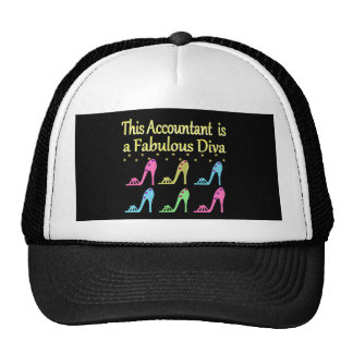 STYLISH ACCOUNTANT SHOE LOVER DESIGN CAP