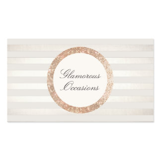 Stylish and Chic Event Planner and Party Oragnizer Pack Of Standard Business Cards