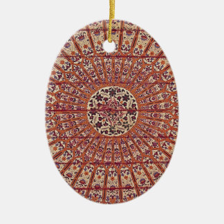 Stylish and Chic Morocco Patern Ceramic Ornament