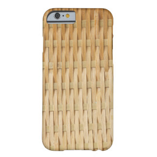 Stylish and Cool Bamboo Rattan Pattern Barely There iPhone 6 Case