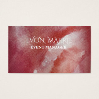 Stylish and Original Event Manager  Busines Card