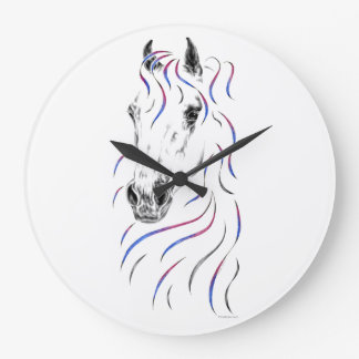 Stylish Arabian Horse Wall Clocks
