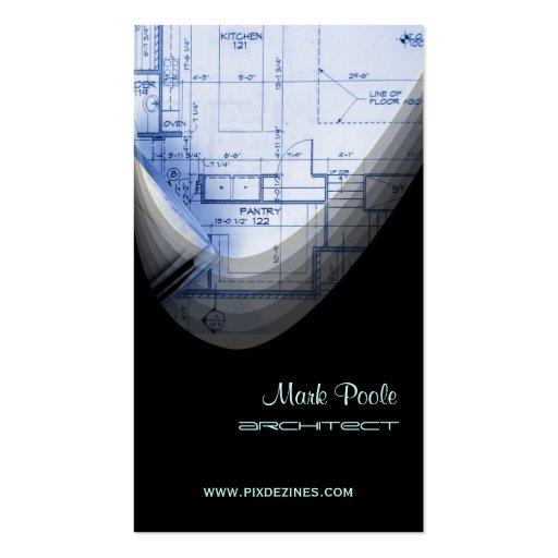 Stylish Architect Remodeling business cards