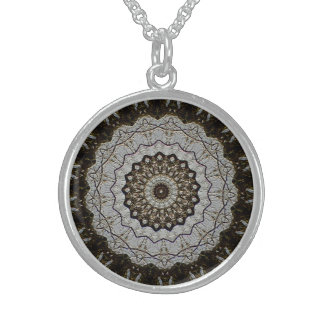 Stylish Artistic Designer Sterling Silver Necklace