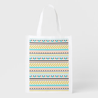 Stylish Aztec Inspired Geometric Pattern
