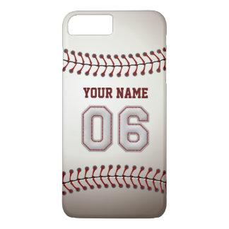 Stylish Baseball Number 6 Custom Name - Unique iPhone 7 Plus Case