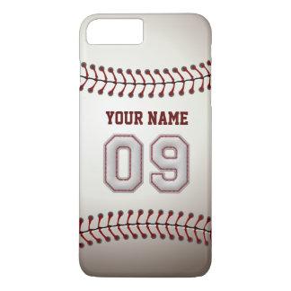 Stylish Baseball Number 9 Custom Name - Unique iPhone 7 Plus Case