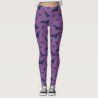 Stylish Bat Pattern Leggins Leggings