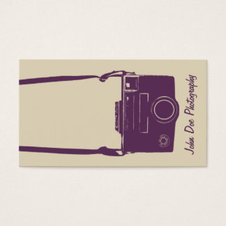309 Retro Camera Business Cards and Retro Camera Business