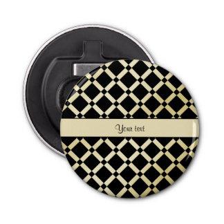 Stylish Black & Gold Squares