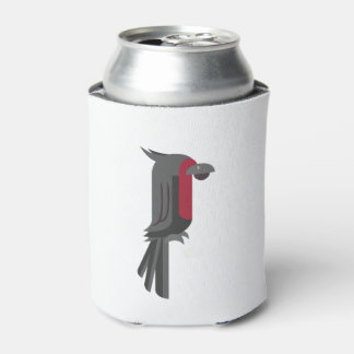 Stylish Black Palm Cockatoo Can Cooler