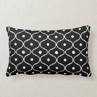 Stylish Black & White Pattern Decorator Pillow