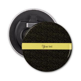 Stylish Black & Yellow Glitter Mini Stars