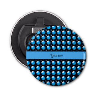 Stylish Blue Buttons Bottle Opener