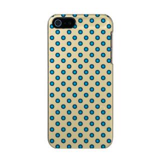 Stylish Blue Polka Dot Incipio Feather® Shine iPhone 5 Case