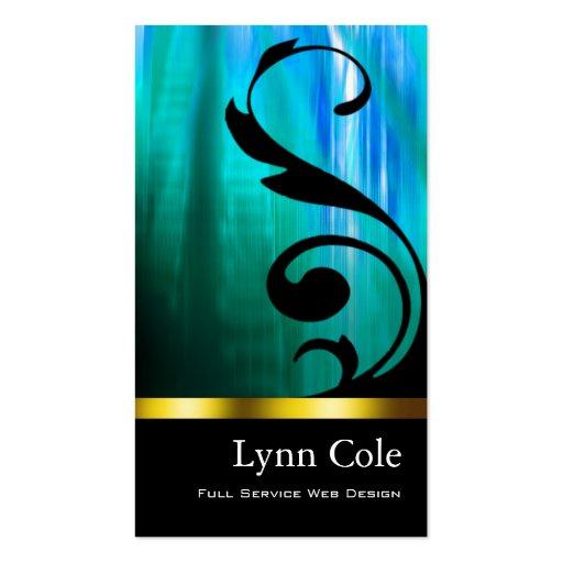 """Stylish Business Card (all purpose) - """"Lumina"""""""