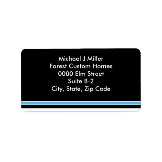 Stylish Business/Personal  Stripe Address Label