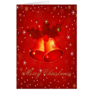 Stylish Christmas Bells An Elegant Christmas Card