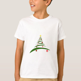 Stylish Christmas Tree T-Shirt