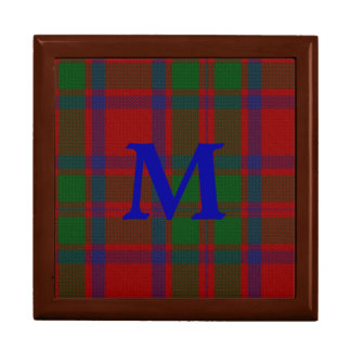 Stylish Clan MacIntosh Monogram Keepsake Box