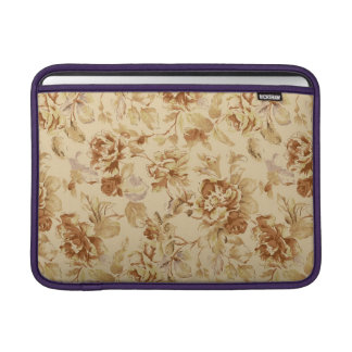 Stylish Classic Floral Pattern Rickshaw Sleeve MacBook Air Sleeve