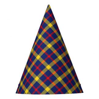 Stylish Classic Tartan Plaid Patterned Party Hat