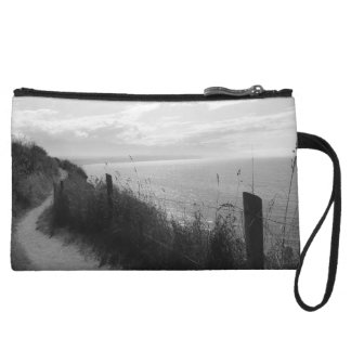 Stylish clutch with ocean trail picture