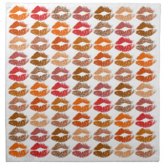 Stylish Colorful Lips #14 Napkin