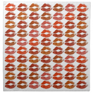 Stylish Colorful Lips #21 Napkin