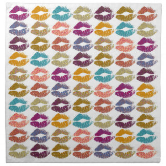 Stylish Colorful Lips #29 Napkin