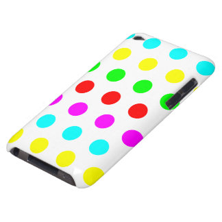 Stylish & Colorful Polka Dot iPod Touch 4G Barely There iPod Case