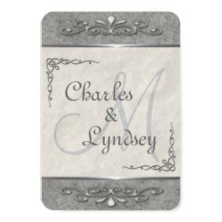 Stylish Customizable Wedding Invitations