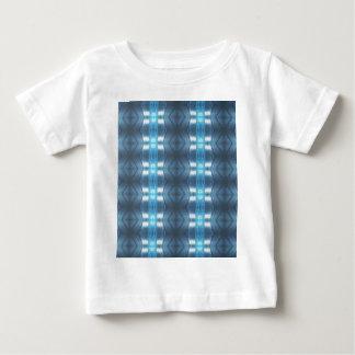 Stylish Dark and Light Blue Diamonds Baby T-Shirt