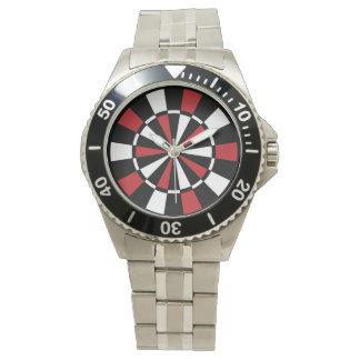 Stylish Dartboard Wrist Watch
