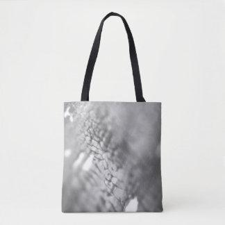 Stylish designers tote bag : grey photography