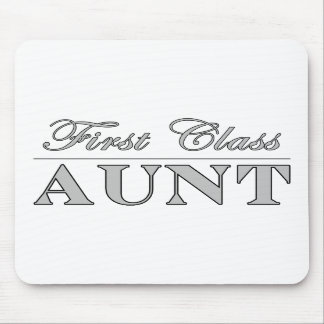 Stylish Elegant Aunts First Class Aunt Mouse Pad