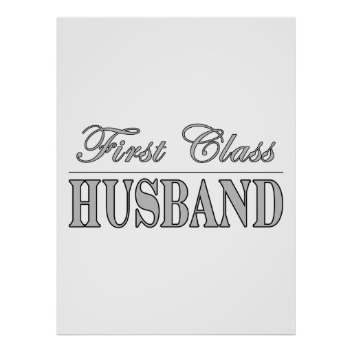 Stylish Elegant Husbands : First Class Husband Poster