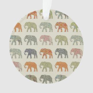 Stylish Elephant Pattern Ornament