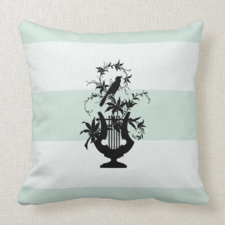 Stylish-Estate-Celadon Snow-White-Square Cushion