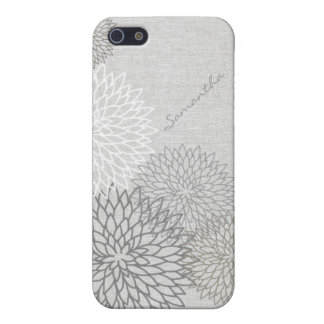 Stylish Floral Linen Look iPhone 5C Case