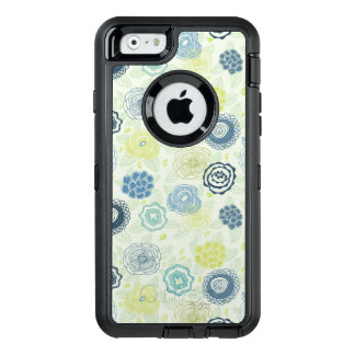 Stylish floral pattern with cute flowers OtterBox iPhone 6/6s case