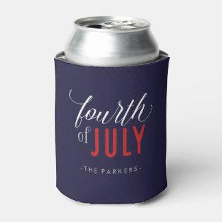 Stylish Fourth of July Typography