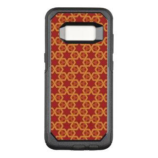 Stylish geometric ornament OtterBox commuter samsung galaxy s8 case