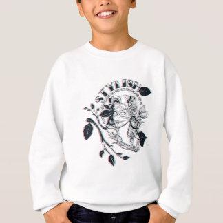 stylish girl cute design sweatshirt